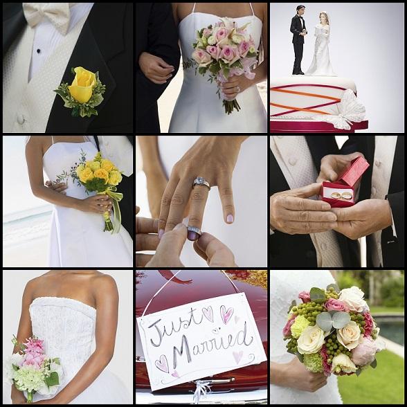 Wedding Ceremony Plans - Collage