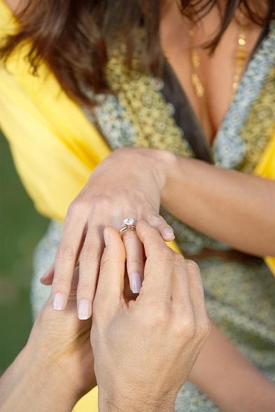 Wedding Ring Shopping - Propose