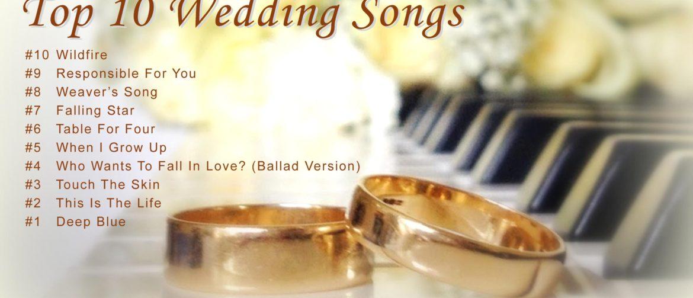 Memorable Wedding Songs List - 1