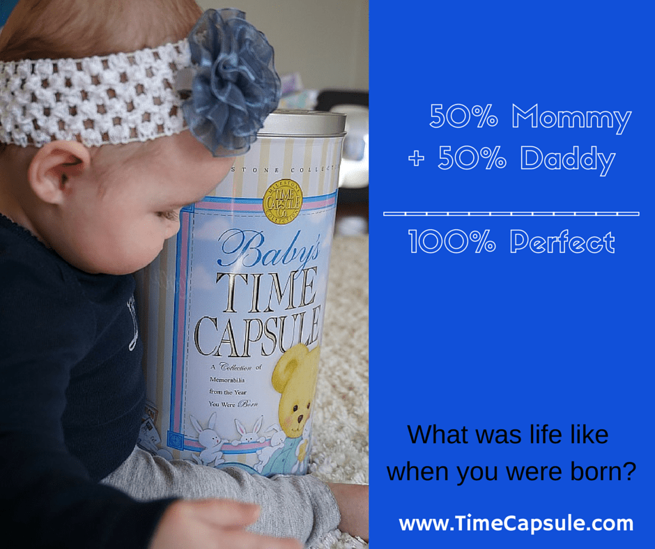 Welcome New Baby with Baby Gifts - Baby Time Capsule