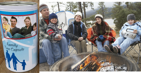 Christmas Family Time Capsule - Family Camping