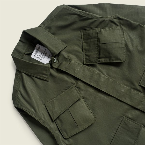 1960s Vietnam War Jungle Fatigue Jacket Ripstop Poplin
