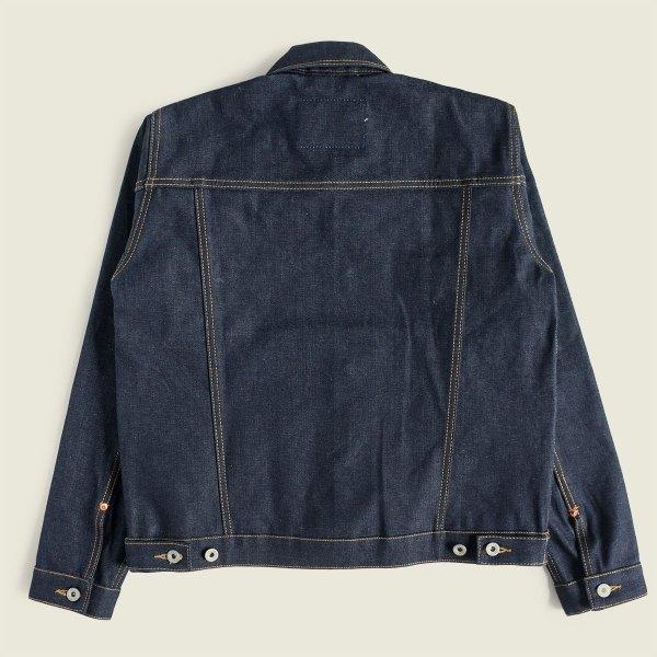 Vintage Workwear Selvedge Raw Denim Jacket