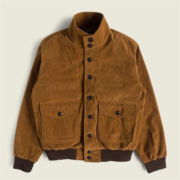 Vintage A-1 Suede Flight Jacket