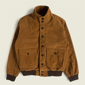 Vintage A-1 Suede Flight Jacket