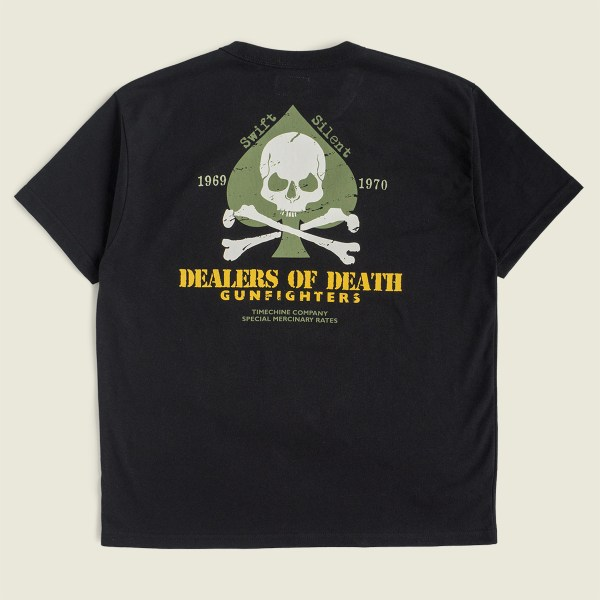 Vintage Vietnam War T-shirt Dealers of death gunfighters special mercenary rates
