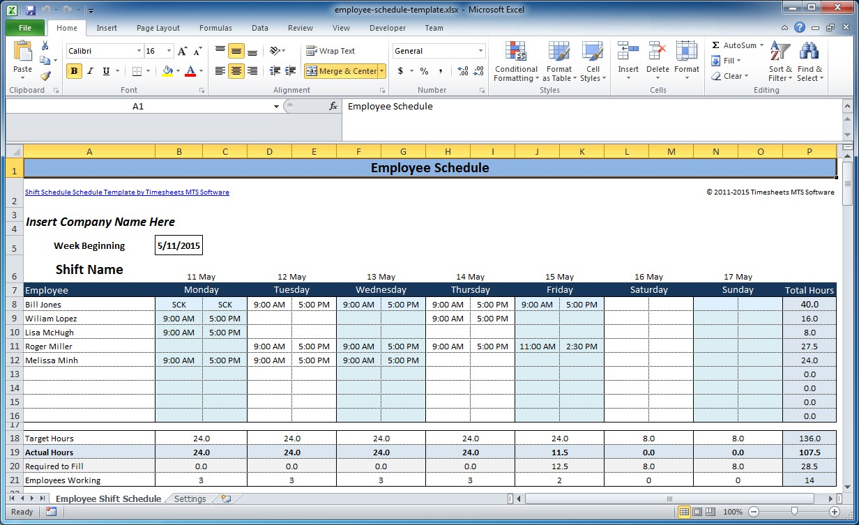 Schedule Templates Excel 2016 printable appointment calendar – Daily Task Calendar Template