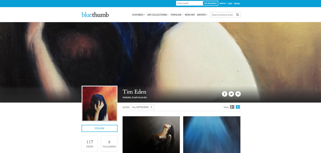 Bluethumb - Australia's largest art marketplace 1