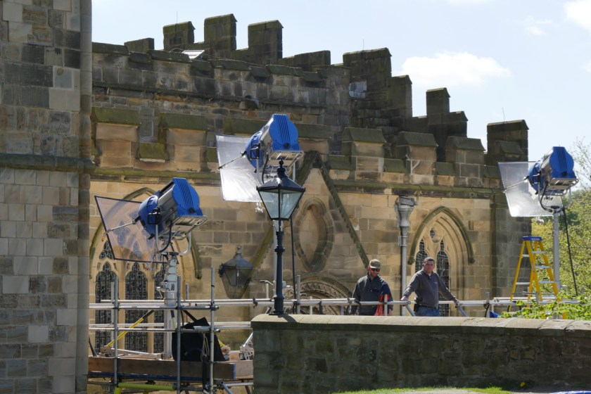 Filming Avengers Infinity War at Durham Cathedral