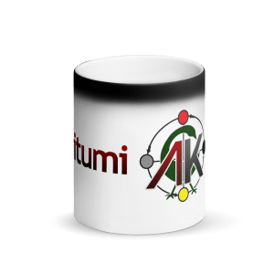 Abibitumi Matte Black Magic Mug