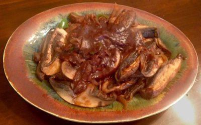 Ethiopian Inguday Tibs – Spicy Sautéed Mushrooms