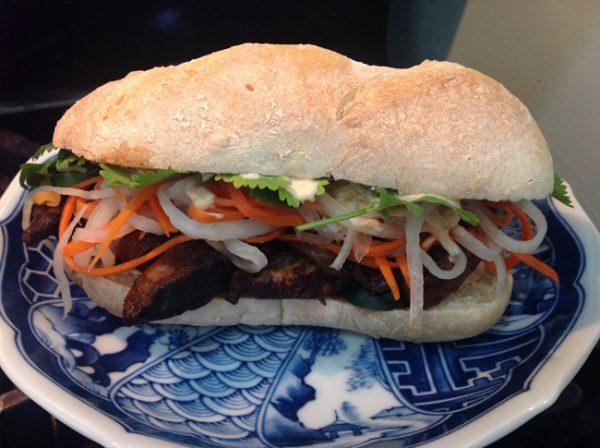 Vietnamese-Ethiopian Bahn Mi Fusion Sandwich