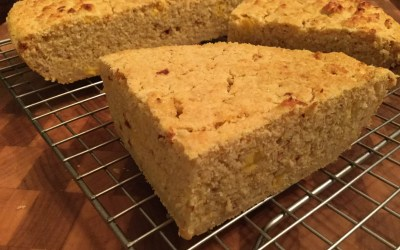 Spicy Cajun Cornbread – 100% Whole Grain and Dairy-Free!