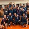 La Roja celebrando el pase a la Eurocopa