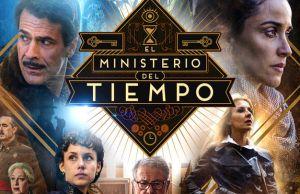 Cartel promocional de la 4ª temporada de 'El Ministerio del Tiempo' | Fuente: TVE