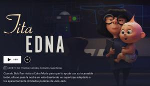 Los Increíbles: Tita Edna
