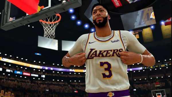 Anthony Davis, jugador de Lakers, perfectamente representado en el videojuego (Fuente: 2k Spain).