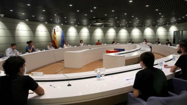 Reunión del Ministerio de Trabajo con los riders