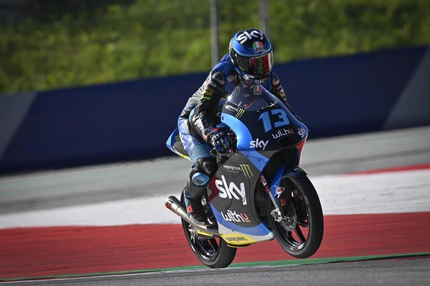 Celestino Vietti en el Gran Premio de Estiria