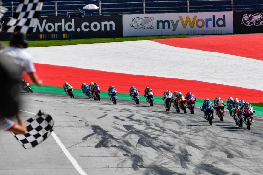 Albert Arenas en instantes antes de ganar la carrera