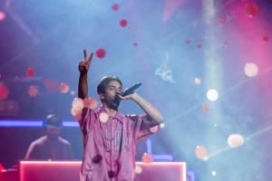 Don Patricio durante su actuación en el CCME. // Fuente: @CocaCola_es