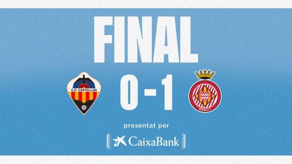 Castellón 0 Girona 1