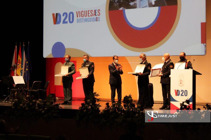 Policía Nacional, Autonómica y Local; Guardia Civil y Protección Civil vigo