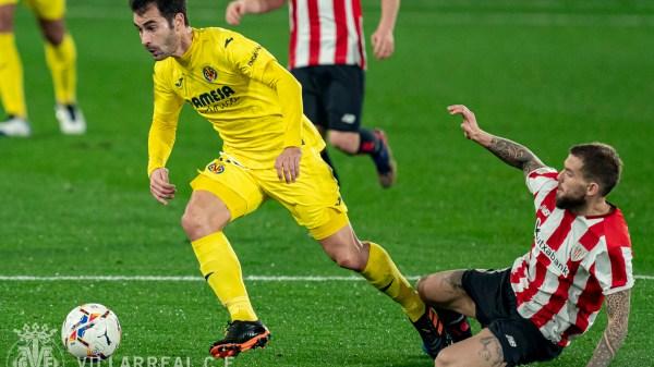 Trigueros e Iñigo Martínez en el encuentro de la primera vuelta | Fuente: @VillarrealCF
