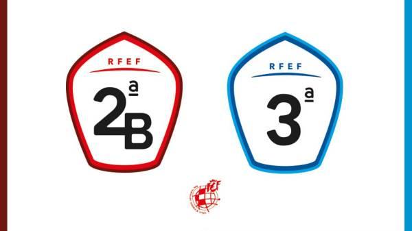 Segunda B y Tercera División.