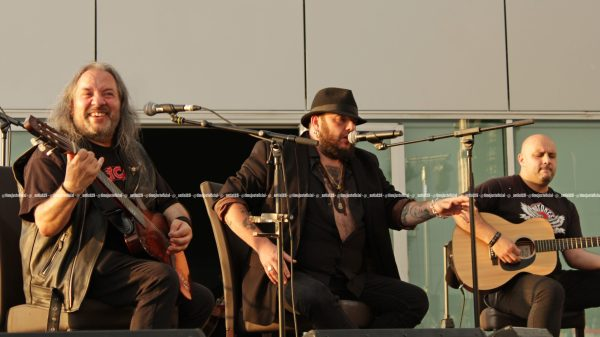 Kutxi Romero y Los Motores en el Festival TerraCeo de Vigo