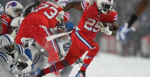 "Colts at Bills - ""Snow Bowl"""