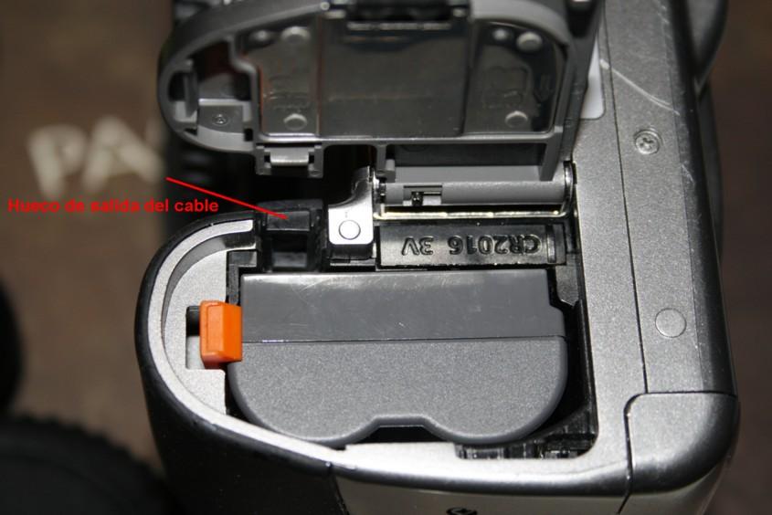 Modificación de Batería Canon para conexión a 12V