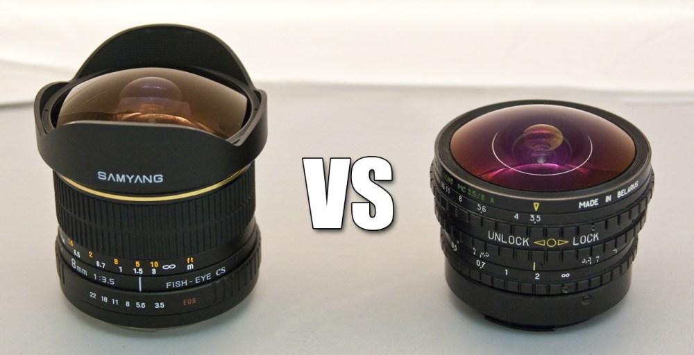 Comparativa de Objetivos Ojos de Pez: Peleng vs Samyang