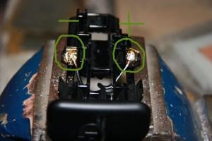 conexión de los cables