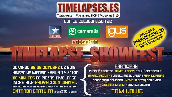 Timelapse Showfest! 2012