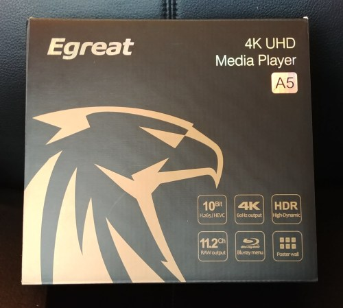 [ANÁLISIS] Reproductor multimedia Egreat A5 UHD 4K HDR