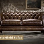 Brown Chesterfield Sofas Leather Fabric Timeless Chesterfields