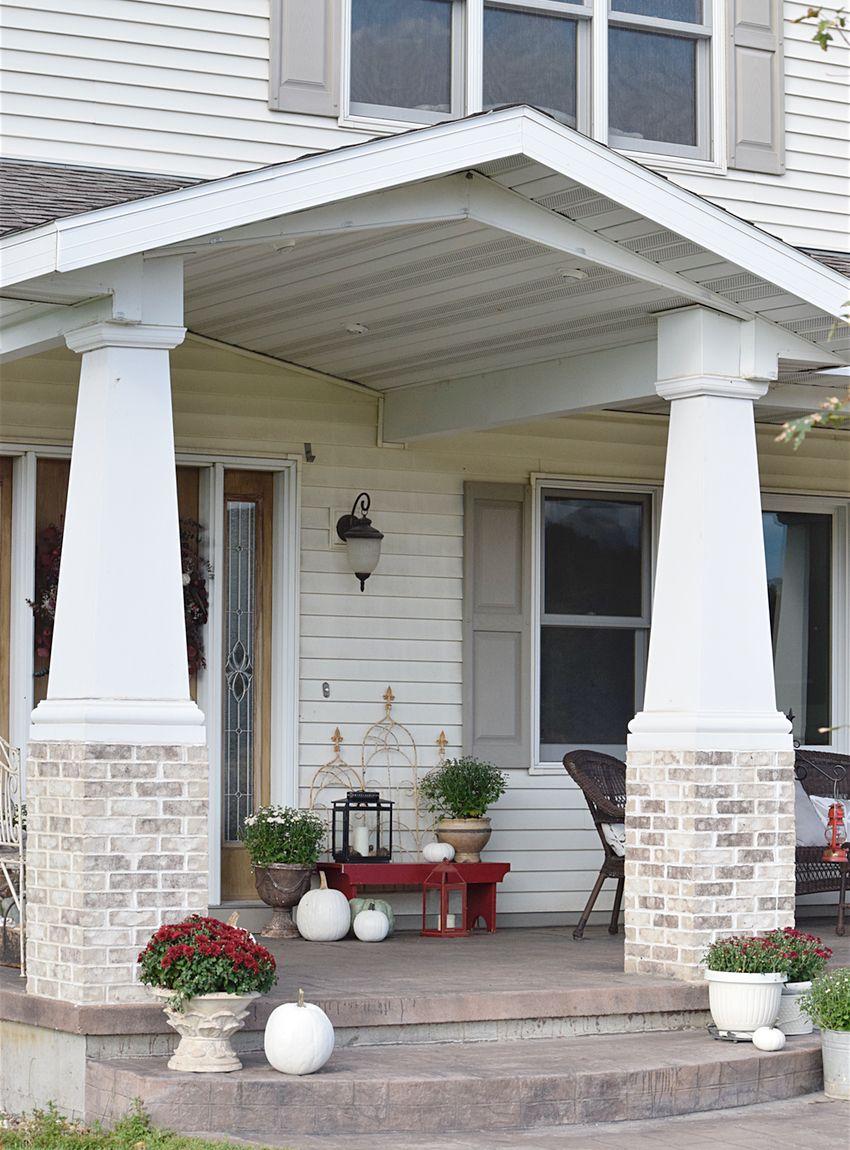 Farmhouse Fall Front Porch