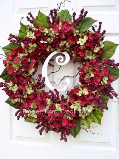 Hydrangea Wreaths