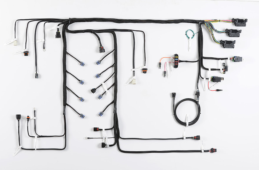 timeless muscle magazine rh timelessmuscle com  howell wiring harness diagram
