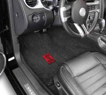 Lloyd Mats Adds New Gt350 Logos To Its Full Line Of Shelby Licensed Floor Mats - Shelby Sidemarker Red in Car 2015 - ON