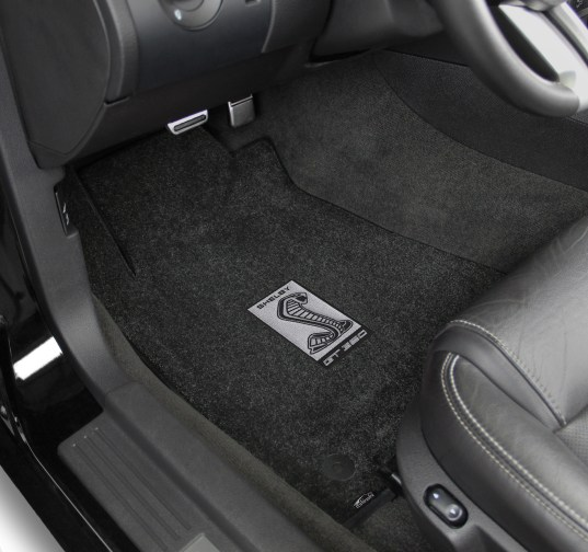 Lloyd Mats Adds New Gt350 Logos To Its Full Line Of Shelby Licensed Floor Mats - Shelby Sidemarker Silver in Car 2015 - ON