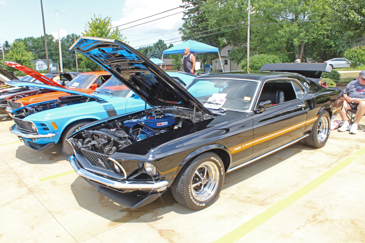 Timeless Muscle Magazine - Summit car show