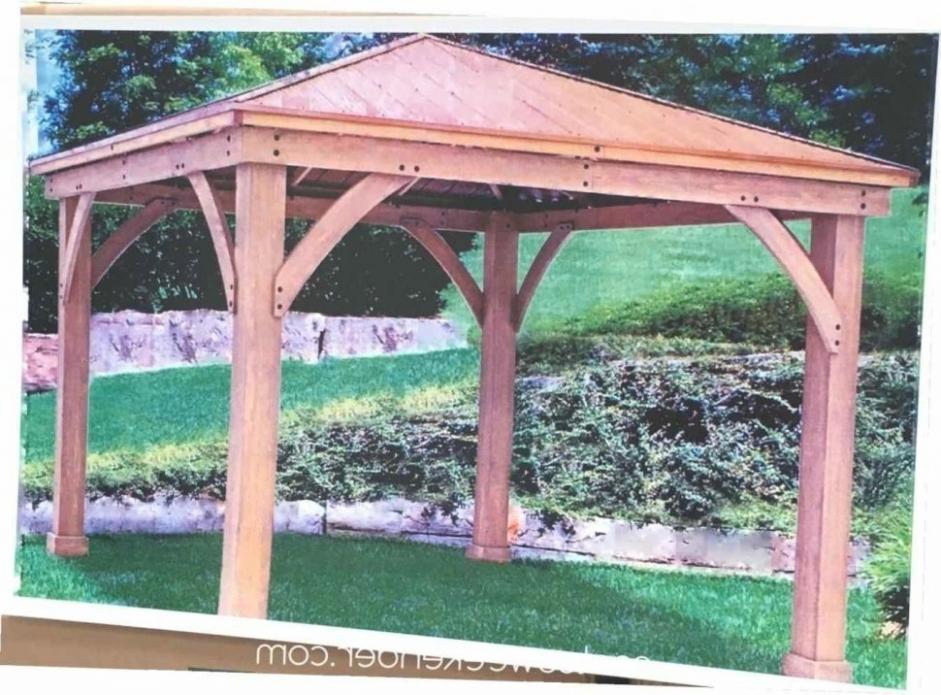 25 Best Of Hardtop Wooden Garden Gazebo At Costco