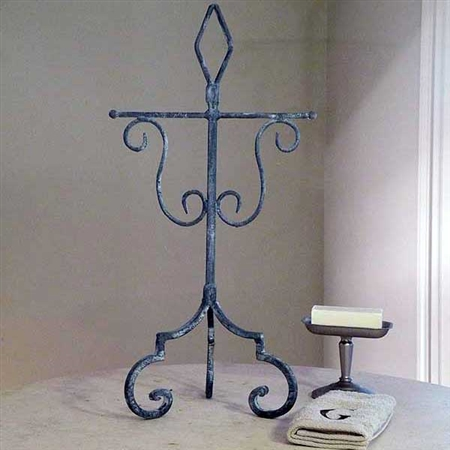 Wrought Iron Abilene Tea Hand Towel Holder