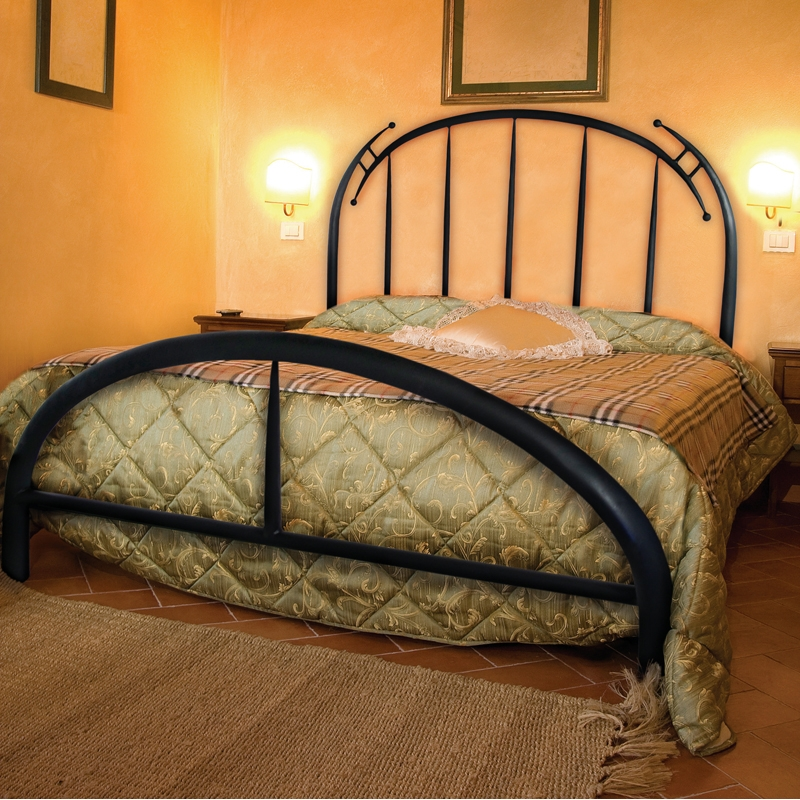Pictured Here Is The Pinnacle Wrought Iron Bed Hand Forged