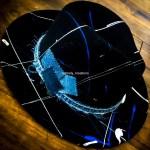 Timely Kreations Custom Black Hat with Denim Belt