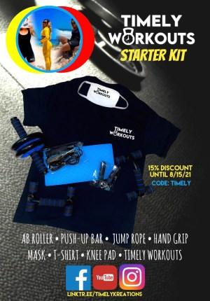 Timely Workouts Starter Kit