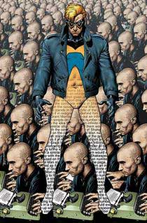 Cover to Deus Ex Machina (Animal Man Book 3)