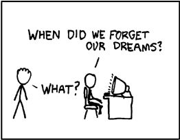 when did we forget our dreams?